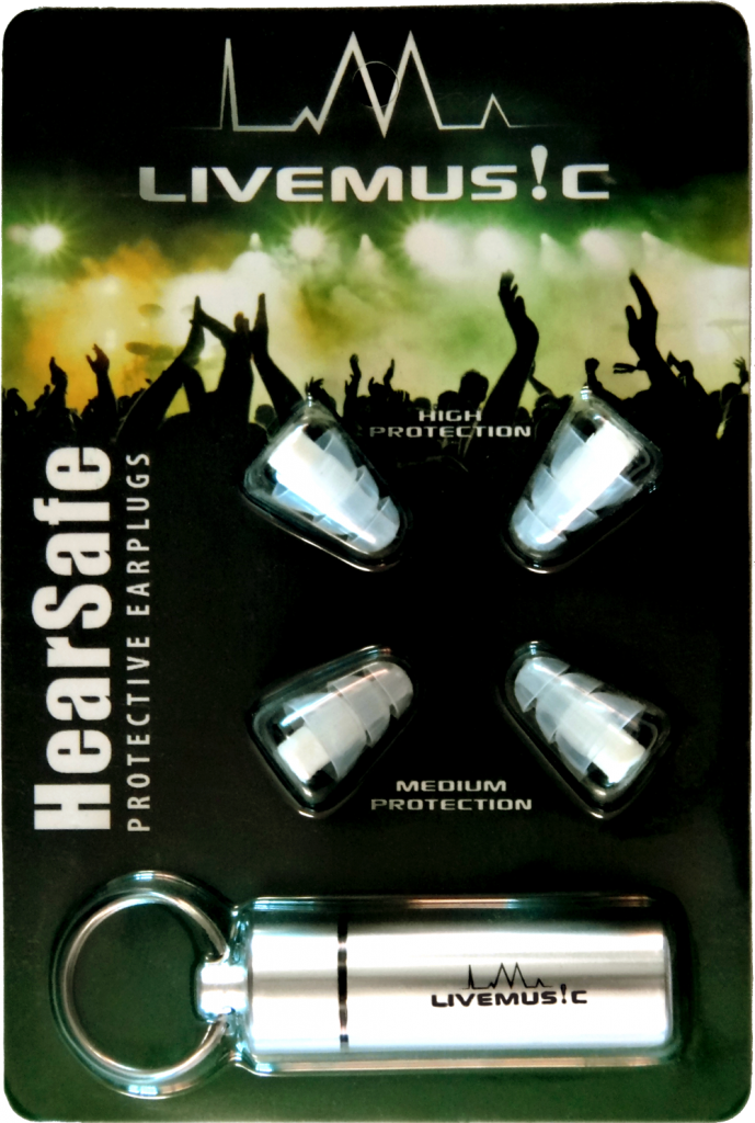 LiveMus!c HearSafe Earplugs